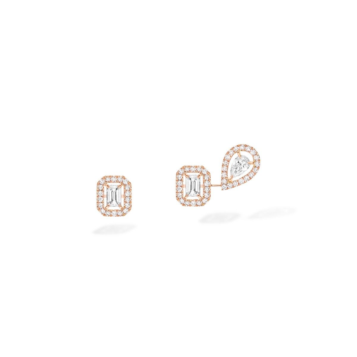 Pendientes Messika My Twin 1+2 0,10ct x3